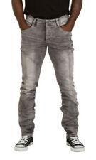 Jeans da uomo tagliamo classici , dritti grigi
