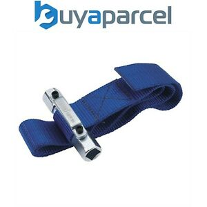 Draper Oil Filter Removal Tool Strap Wrench 56137 Square Driver 1000mm x 38mm