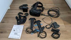 HTC Vive VR Headset, mit HTC Deluxe Audio Strap, 2Controller und 1 BasisStation