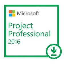 MICROSOFT PROJECT PROFESSIONAL 2016 32/64 BIT ESD - ORIGINALE FATTURABILE