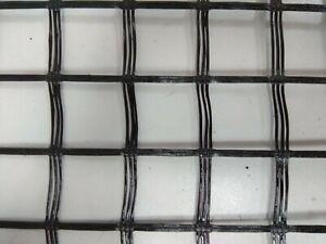 60 m2 Basaltgitter mit Polymerbeschichtung für Mauerarbeiten-25x25 mm