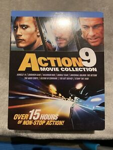 Action 9 Movies Collection Blu Ray (Region A)