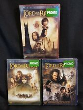 The Lord of the Rings Two Towers, Fellowship of the Ring, Return of the King DVD