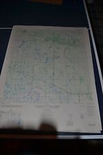 1940's Army (like USGS) topo map Verna Florida  4538 IV NE Myakka City