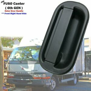 Black Front Right Outer Door Handle Fits Mitsubishi FUSO Canter FB511 1994-2002*