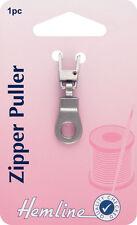 Hemline-Zipper Puller Bronzo Anello allegare a zip, per una facile apertura e chiusura-Pack 1