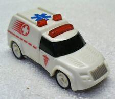 Vintage 1994 HOT WHEELS-White Diecast Ambulance-China