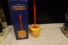 Donald Trump Toilet Brush And Holder new boxed