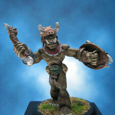 Painted Ral Partha Miniature Orc Champion