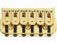 NEW Hipshot Gold HARDTAIL BRIDGE for Fender Tele Strat Guitar Stratocaster