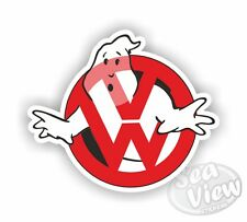Vw Ghostbusters 1 Sticker Decal coche divertido Van Volkswagen Bug Dub Camper Bus