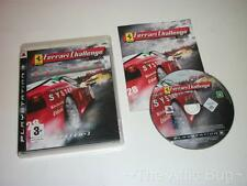 Sony Playstation 3 / PS3 FERRARI CHALLENGE DELUXE ~ ~ COMPLET / très bon