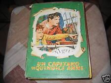 UN CAPITANO DI QUINDICI ANNI - J. VERNE - FABBRI  1955