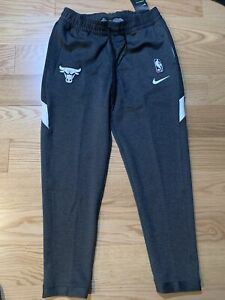 Nike Chicago Bulls Showtime Therma Flex Tear Away Pants Size L AT8515-032 Men's
