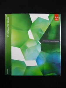 Adobe Captivate 5.5 CS5 for Windows Genuine UK Retail Version Brand New / Sealed