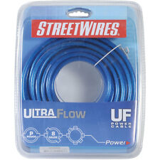 StreetWires UFX820B 8 AWG Power Cable Blue 20 ft.