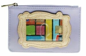 Friends Credit Card Holder Wallet & Coin Purse With Zipper & Keychain