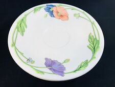 "VILLEROY AND BOCH ""AMAPOLA"" SAUCER"