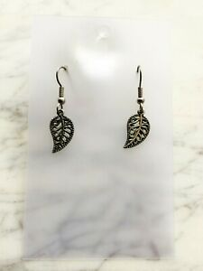 Leaf Earrings Plant Pagan Spirit Astrology
