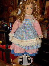 beautiful porcelain doll From court of dolls by Jenny