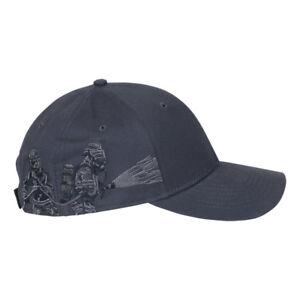 DRI DUCK Firefighter Cap 3348 Baseball Hat Navy