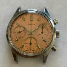 GALLET CHRONOGRAPH VALJOUX 72 / 726 VINTAGE WATCH 35 MM STAINLESS STEEL