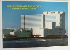 Postcard Vintage Harrah's Casino Hotel and Casino, Atlantic City, New Jersey