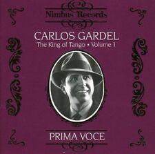 CD musicali tango carlos gardel