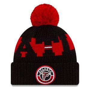 2020 Atlanta Falcons New Era NFL Knit Hat On Field Sideline Beanie Stocking Cap