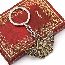Legend of Zelda Triforce Keychain Zelda Logo Key Chain / Keychain CA Stock