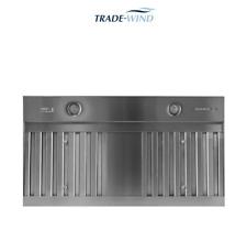 New listing Trade-Wind 1200 cfm 54inch Range Hood Insert Stainless Steel #Vsl45412Rc