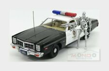 Dodge Monaco Police + T-800 Endoskeleton Terminator GREENLIGHT 1:18 GREEN19042