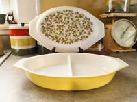 Vintage Pyrex 1 1/2 Quart Verde Casserole Dish With Green Olive Lid