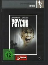 DVD Psycho Hitchcock Bloch Universal Perkins Leigh
