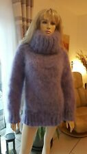 TRAUMMOHAIR FUZZY MOHAIR PULLOVER SWEATER JUMPER soft brushed hand knit dick NEU