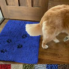 Enthusiast Gear Dog Mug Door Mat - Super Absorbent Microfiber Chenille