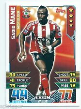 2015 / 2016 EPL Match Attax Base Card (225) Sadid MANE Southampton