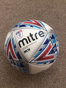mitre delta  hyperseam football Sky Bet EFL size 5 official match ball