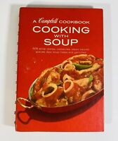 A Campbell Cookbook Cooking With Soup 1972 Revised Edition 608 Recipes Retro