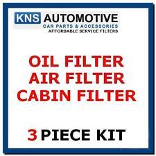 PEUGEOT 207 1.6 HDI DIESEL 06-10 Olio, Aria & Filtro Antipolline Servizio Kit P7A