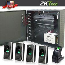 ZKTeco inbio 460 Access Control kit 4 Door + biometric readers zk, TCPIP RS485.