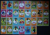 2019 Topps Heritage Minor League Fresh On Scene Inserts Complete Your Set U Pick
