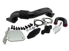 Right Side Up Pipe & EGR Delete Kit For 2007-10 LMM 6.6L Duramax 2500 3500 4500