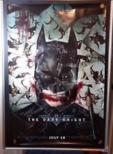 BATMAN THE DARK KNIGHT Christian Bale Original The Joker 27x40 Movie Poster 2008