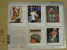 Canada 2018 ART = ILLUSTRATION = Souvenir sheet of 5 stamps MNH