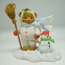 "CHERISHED TEDDIE FRANKIE - 2011 DATED SNOW BEAR"" 4023733  MINT IN BOX"