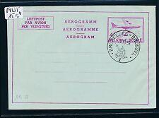 04235) Belgien GA Aerogramme LF 7Y III F/N/D Wz senkrecht o Bruxelles 23.10.59