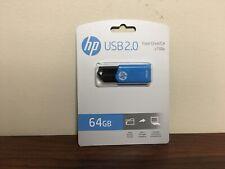 HP 64GB V150W USB 2.0 Flash Drive ~New Factory-Sealed~