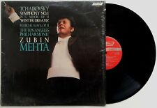 "ZUBIN MEHTA TCHAIKOVSKY Symphony No. 1 ""Winter Dreams"" U.K. London ffrr EX/EX"