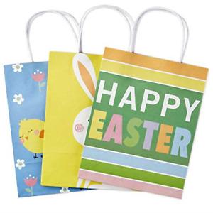 Hallmark Medium Gift Bags Assortment, Happy Easter Pack of 3